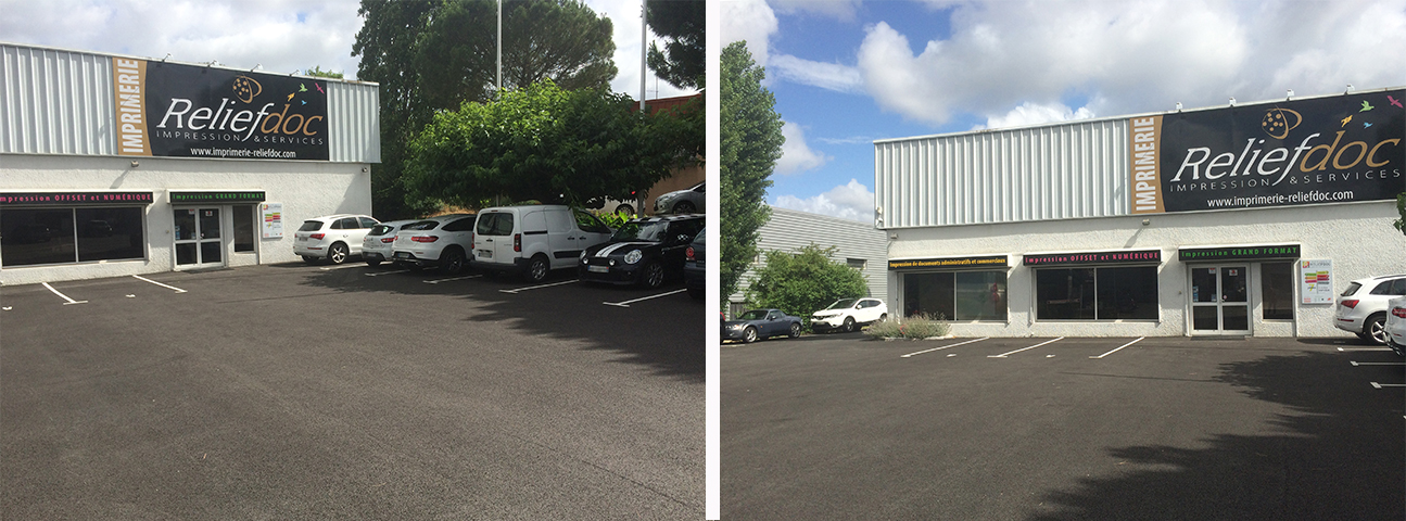 travaux parking imprimerie reliefdoc toulouse -2